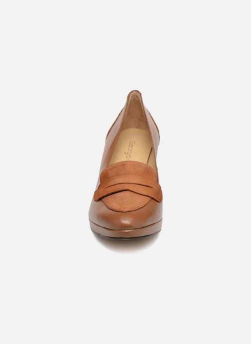 Escarpins Georgia Rose Emoca Marron vue portées chaussures