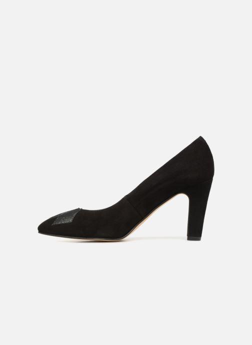 Zapatos de tacón Georgia Rose Eternel Negro vista de frente