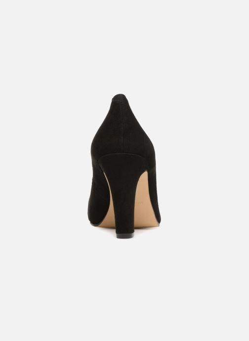 Zapatos de tacón Georgia Rose Eternel Negro vista lateral derecha