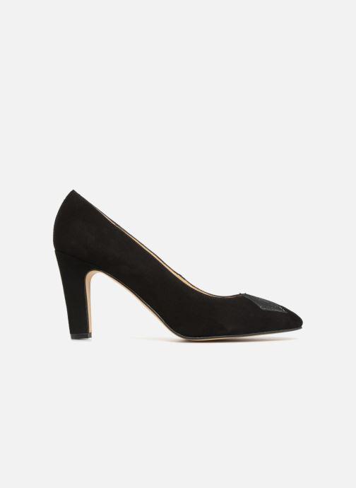 Zapatos de tacón Georgia Rose Eternel Negro vistra trasera