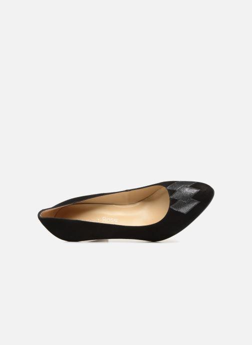 Zapatos de tacón Georgia Rose Eternel Negro vista lateral izquierda