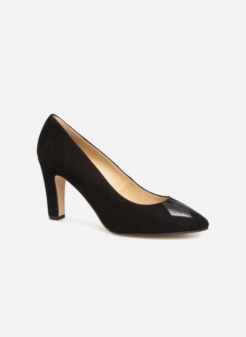 Zapatos de tacón Georgia Rose Eternel Negro vista de detalle / par