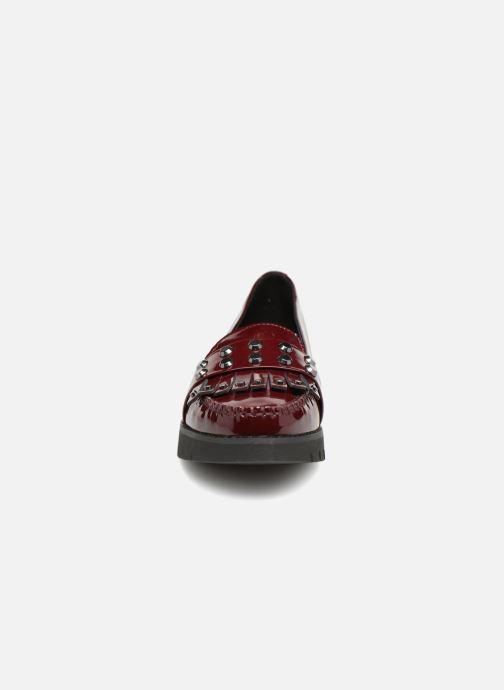 Mocassins Geox D BLENDA B D840BB Bordeaux vue portées chaussures