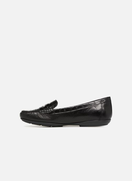 Geox D ANNYTAH MOC C D84BMC (Black) Loafers chez Sarenza