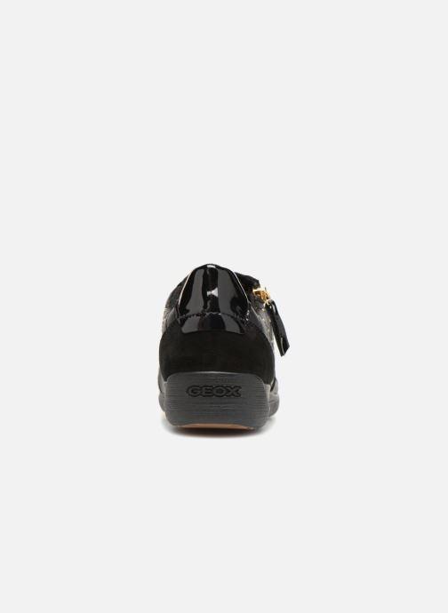 Sneakers Geox D MYRIA B D8468 B Zwart rechts