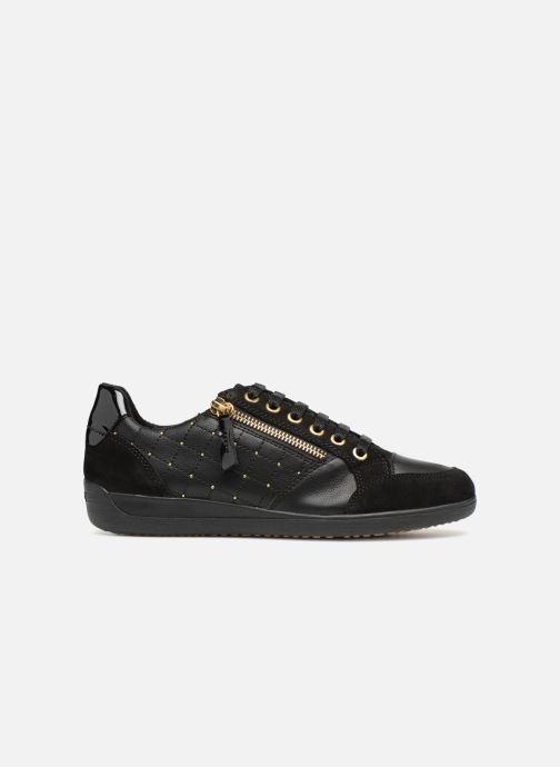 Sneakers Geox D MYRIA B D8468 B Zwart achterkant