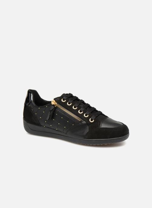 Sneakers Geox D MYRIA B D8468 B Zwart detail