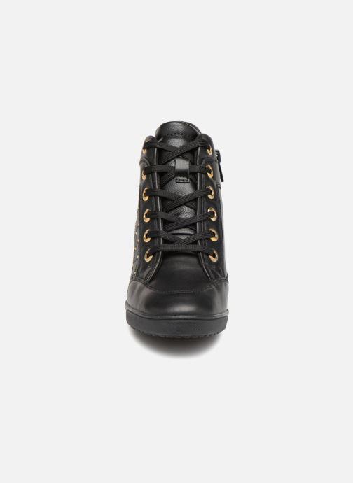 Baskets Geox D CARUM C D84ASC Noir vue portées chaussures