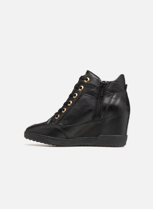 Sneakers Geox D CARUM C D84ASC Zwart voorkant