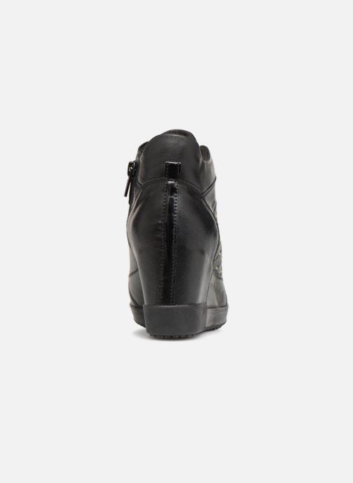Sneakers Geox D CARUM C D84ASC Zwart rechts