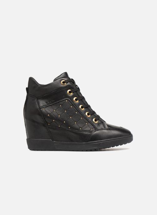 Sneakers Geox D CARUM C D84ASC Svart bild från baksidan