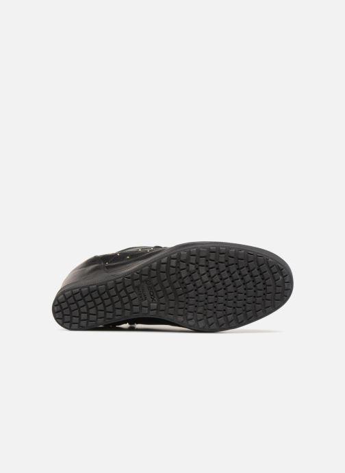 Sneakers Geox D CARUM C D84ASC Zwart boven