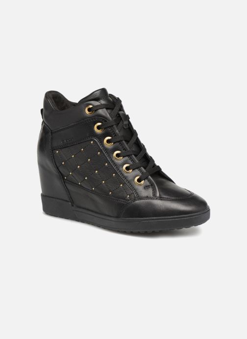 Sneakers Geox D CARUM C D84ASC Svart detaljerad bild på paret