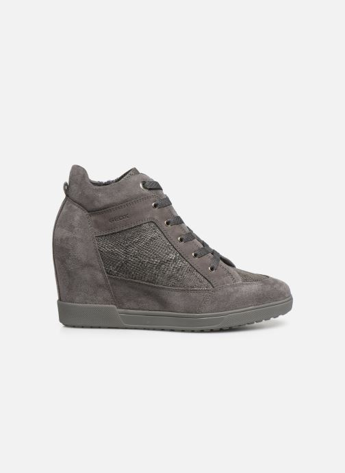Sneaker Geox D CARUM C D84ASC grau ansicht von hinten