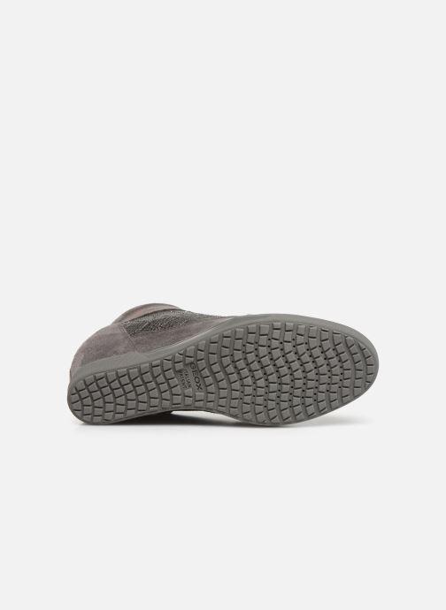 Sneaker Geox D CARUM C D84ASC grau ansicht von oben