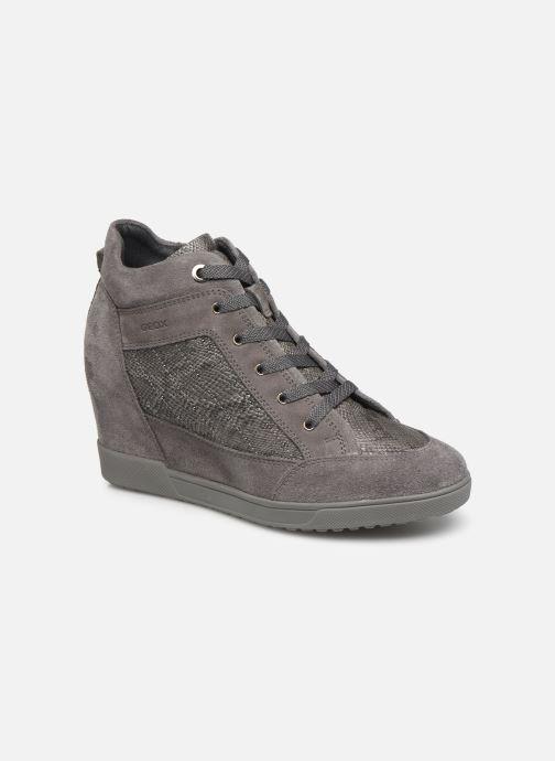 Sneakers Geox D CARUM C D84ASC Grijs detail