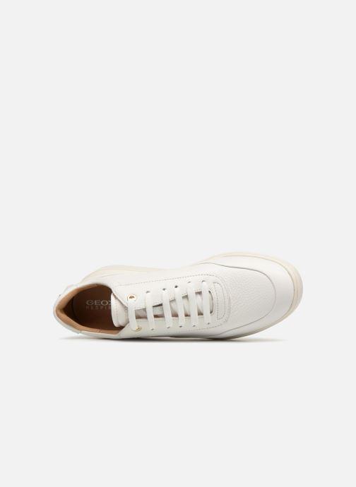 Sneakers Geox D RUBIDA A D84APA Wit links