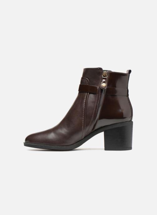 Bottines et boots Geox D GLYNNA B D843CB Marron vue face