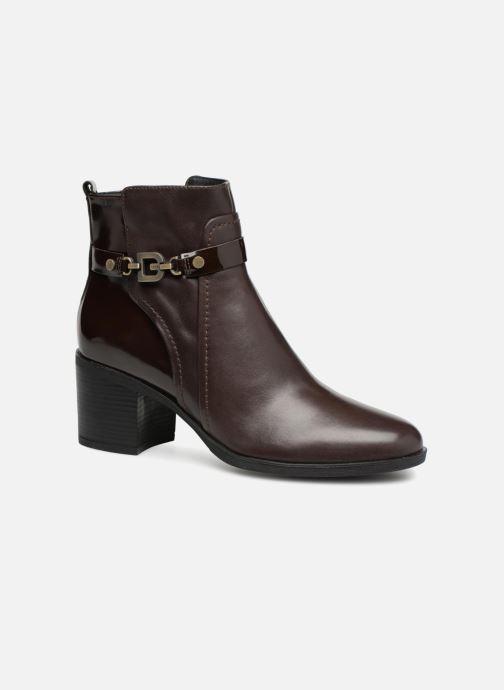 Bottines et boots Geox D GLYNNA B D843CB Marron vue détail/paire