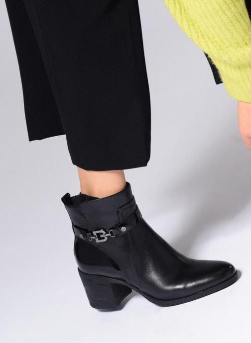 Boots en enkellaarsjes Geox D GLYNNA B D843CB Zwart onder