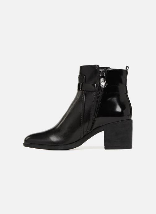 Boots en enkellaarsjes Geox D GLYNNA B D843CB Zwart voorkant