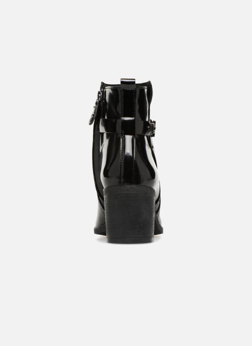 Boots en enkellaarsjes Geox D GLYNNA B D843CB Zwart rechts