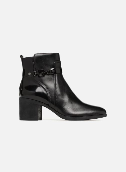 Boots en enkellaarsjes Geox D GLYNNA B D843CB Zwart achterkant