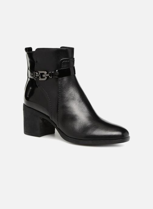 Boots en enkellaarsjes Geox D GLYNNA B D843CB Zwart detail