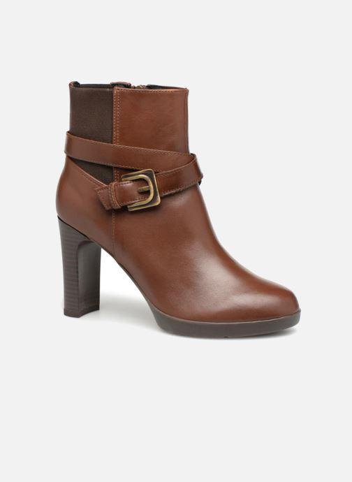 Geox D ANNYA HIGH E D84AEE (Marron) Bottines et boots chez