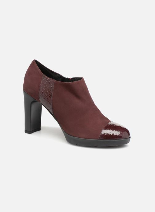 Boots en enkellaarsjes Geox D ANNYA HIGH D D84AED Bordeaux detail