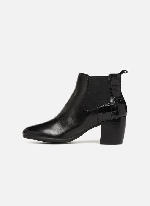 Bottines et boots Geox D NEW LUCINDA A D84AMA Noir vue face