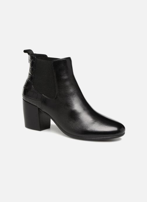 Bottines et boots Geox D NEW LUCINDA A D84AMA Noir vue détail/paire