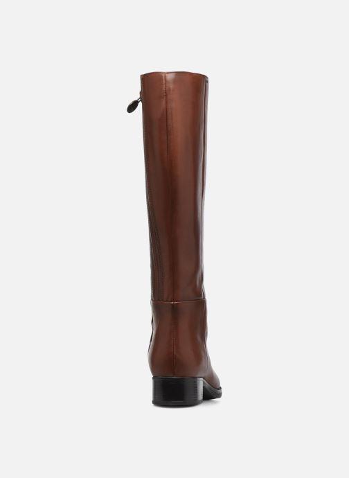 Laarzen Geox D  FELICITY D D84G1D Bruin rechts