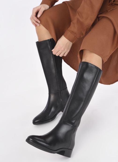 Stiefel Geox D  FELICITY D D84G1D schwarz ansicht von unten / tasche getragen