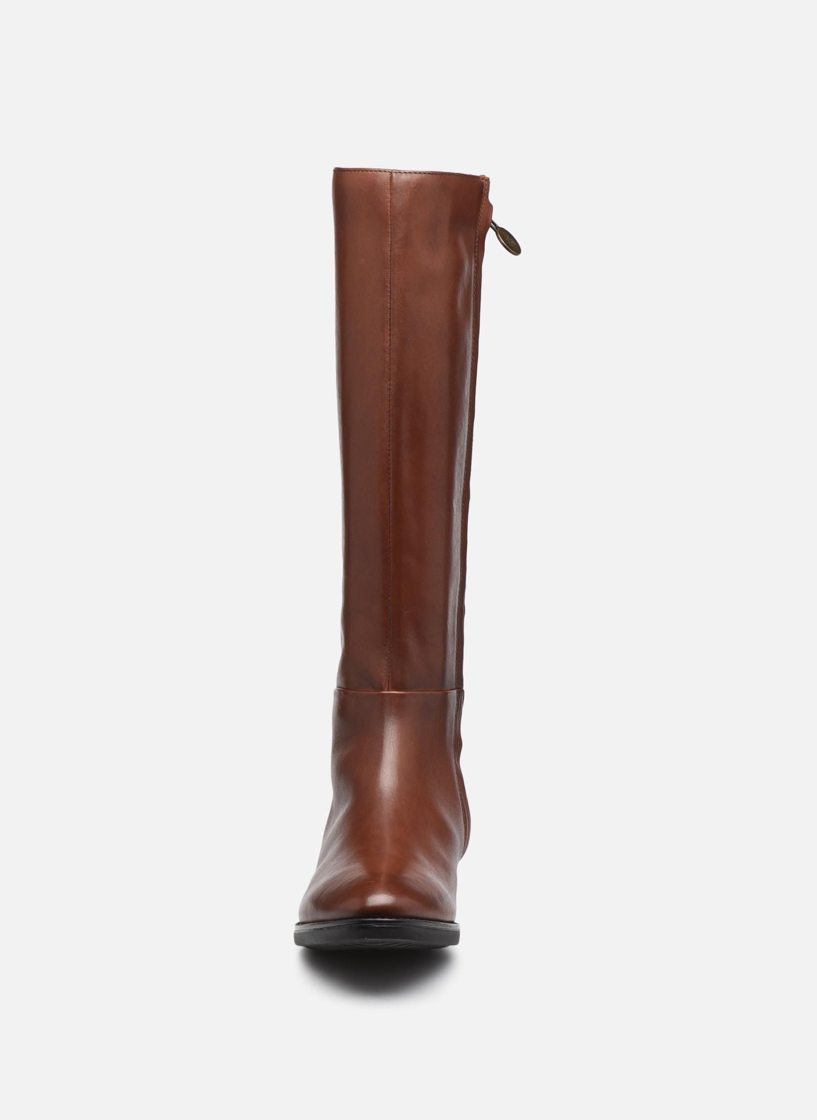 Stövlar & gummistövlar Geox D  FELICITY D D84G1D Brun bild av skorna på