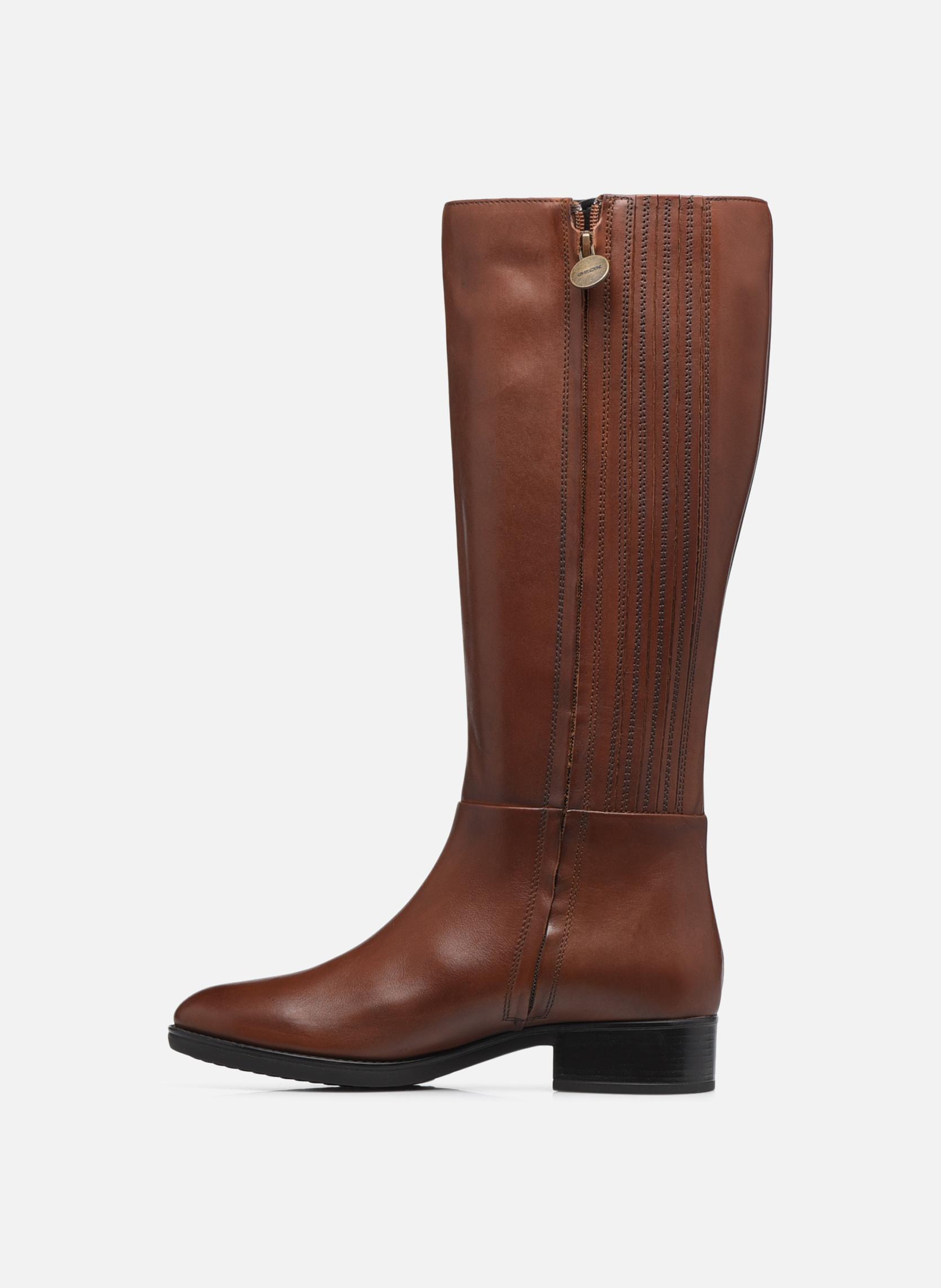 Boots & wellies Geox D  FELICITY D D84G1D Brown front view