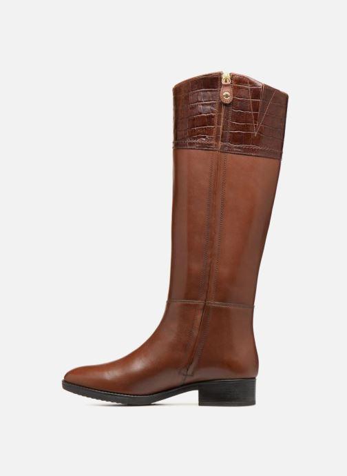 Boots & wellies Geox D FELICITY C D84G1C Brown front view