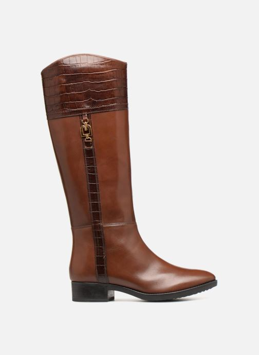 Boots & wellies Geox D FELICITY C D84G1C Brown back view