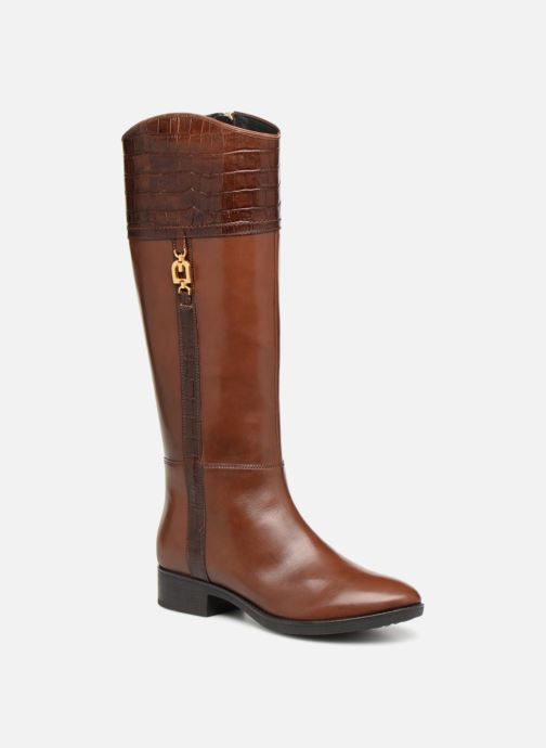 Boots & wellies Geox D FELICITY C D84G1C Brown detailed view/ Pair view