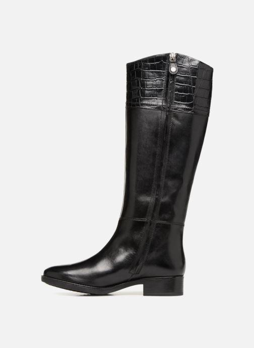 Boots & wellies Geox D FELICITY C D84G1C Black front view