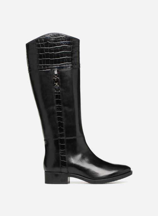 Boots & wellies Geox D FELICITY C D84G1C Black back view