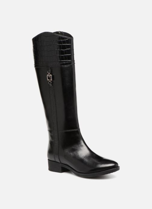 Boots & wellies Geox D FELICITY C D84G1C Black detailed view/ Pair view