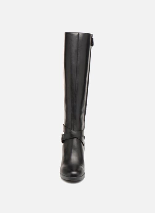 Boots & wellies Geox D ANNYA HIGH F D84AEF Black model view