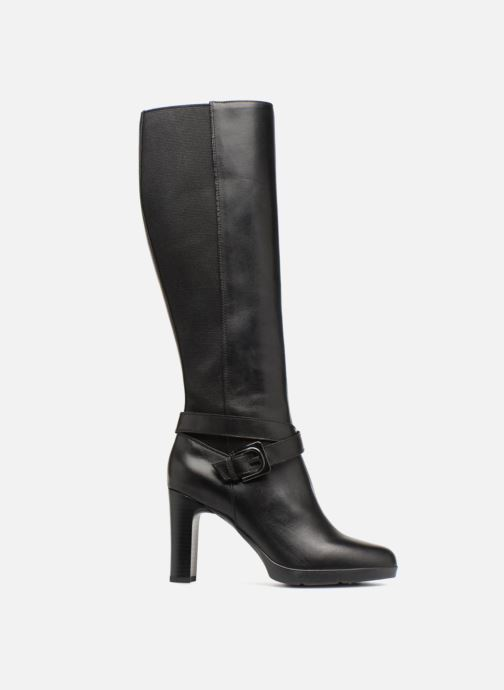 Boots & wellies Geox D ANNYA HIGH F D84AEF Black back view