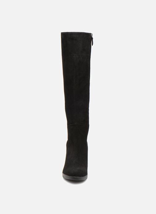Bottes Geox D ANNYA HIGH G D84AEG Noir vue portées chaussures