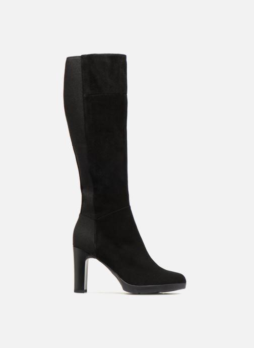 Boots & wellies Geox D ANNYA HIGH G D84AEG Black back view