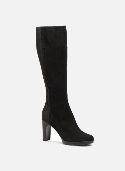 Boots & wellies Geox D ANNYA HIGH G D84AEG Black detailed view/ Pair view