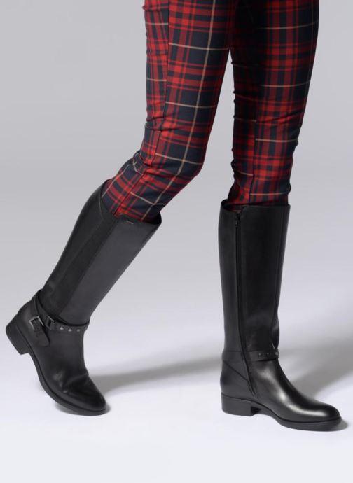 Geox D FELICITY C D84BLC (Black) Boots & wellies chez