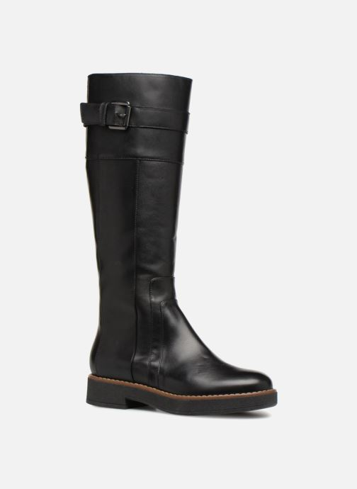 Boots & wellies Geox D ADRYA A D849TA Black detailed view/ Pair view