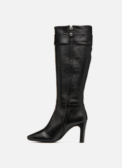 Boots & wellies Geox D VIVYANNE HIGH B D849SB Black front view
